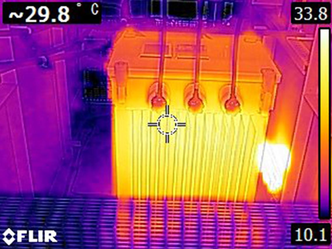 活線時温度測定・通電中点検